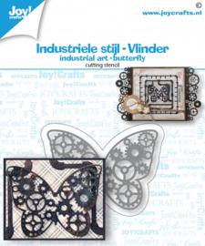 Joy Stansmal - Industrieel vlinder