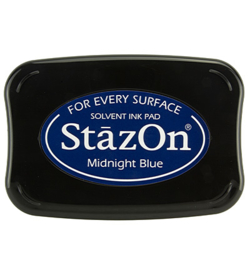 Stazon Ink Pad Midnight Blue