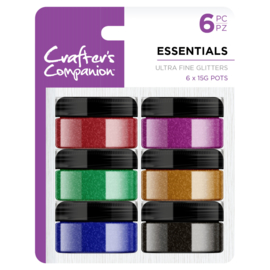 Crafter's Companion Ultrafijne glitter - Essentials