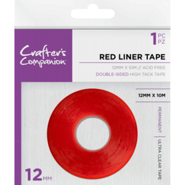 Crafter's Companion Red Liner Dubbelzijdige Tape (12mm)