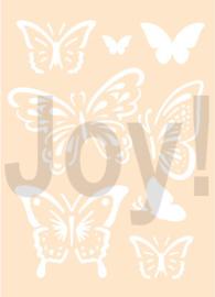 Polybesastencil - Vlinders