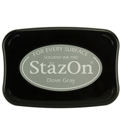 Stazon Ink Pad Dove Grey