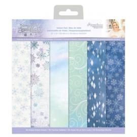Glittering Snowflakes 30x30 cm Vellum Paperpad