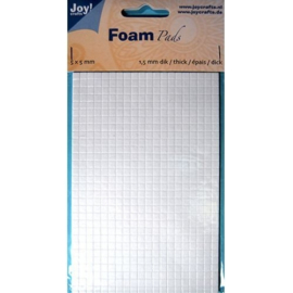 Foam Pads 1,5 mm/5mm.blok WIT