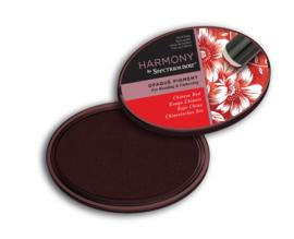 Spectrum Noir Inktkussen - Harmony Opaque Pigment -  Chinese Red (Chinees rood)