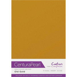 Crafter's Companion Centura Pearl - Old Gold (Oud goud)