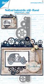 Joy Stansmal - NoEnd - Industrieel rand