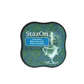 StazOn midi solvent dye ink 5,8x5,8cm Teal Blue
