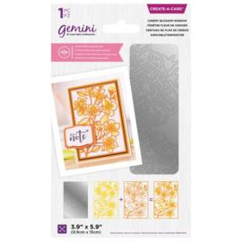 Gemini CAD - Dubbelzijdige snijmal - Cherry Blossom Window