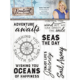 Sara Signature Collection Nautical - Acryl clearstamp - Nautical Elements