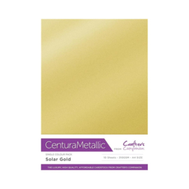 Crafter's Companion Centura Metallic Solar gold