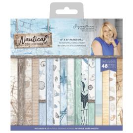 Sara Signature Collection Nautical - Paper Pad 15x15 cm