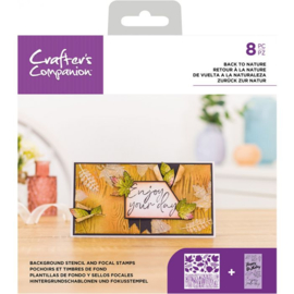 CC - Stencil/Clearstamp set - Back to Nature