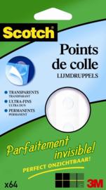 Scotch® Permanente Lijmdruppels Transparant