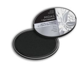 Spectrum Noir Inktkussen - Midas Metallic - Zilver
