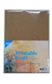 Printable Kraft paper A4