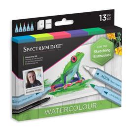 Spectrum Noir Discovery Kit - Watercolor/Aquarel