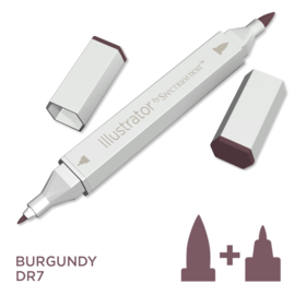 Spectrum Noir Illustrator losse pennen - Burgundy (Bordeaux DR7)