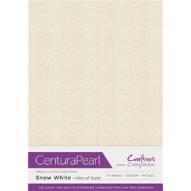 Crafter's Companion Centura Pearl - Hint of Gold (Vleugje goud)