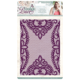 Vintage Lace - 3D Embossingfolder - Venetian Lace