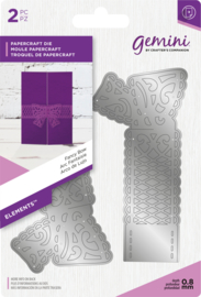 Gemini Elements -  Wrap snijmal - Fancy Bow (Mooie strik)