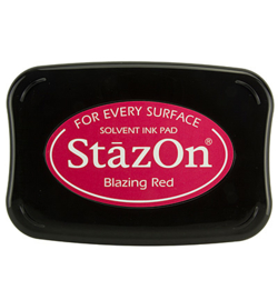 Stazon Ink Blazing Red