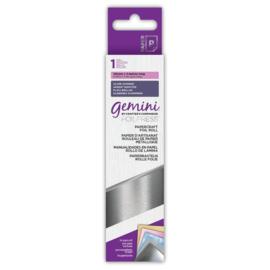 Gemini Papercraft Folie - Zilver Shimmer