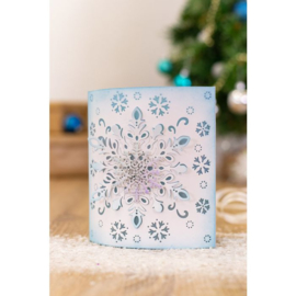 Glittering Snowflakes Metalen snijmal - Frosted Dimension