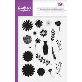 Crafter's Companion A5  clearstamp - Floral Arrangements
