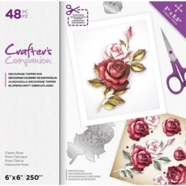 CC- Uitdrukvellen blok - Classic Rose