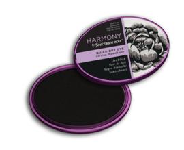 Spectrum Noir Inktkussen - Harmony Quick Dry - Jet Black (Pikzwart)