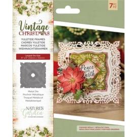 Vintage Christmas snijmal - Yuletide Frames