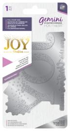 Gemini Folie Stempel mal - Expressions - Christmas Joy