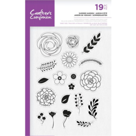 Crafter's Companion A5  clearstamp - Summer Garden