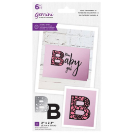 Gemini Make A Statement Snijmal&stempel set - B