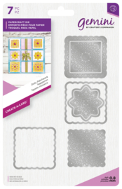 Gemini Create-a-Card - Doily Patchwork