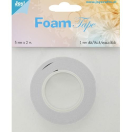 Foam Tape 1,0 mm (5mm breed)