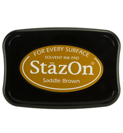 Stazon Ink Pad Sadle Brown