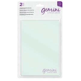 Gemini Jr Accessoires - Transparante snijplaten voor dubbelzijdige snijmallen