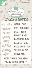 Clearstamp - DenDennis - LWA- Woodland Quotes