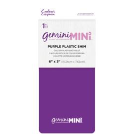 Gemini Mini – Plastic Shim Paars