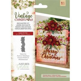 Vintage Christmas snijmal - Enchanted Ivy