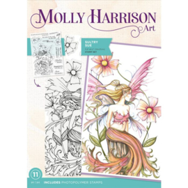 Molly Harrison Clearstamp - Sultry Sue