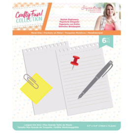 Crafty Fun - Metalen snijmal - Stylish Stationery