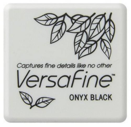 Versafine Ink Pad Onyx Black 3 x 3 cm