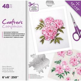CC- Uitdrukvellen blok - Peony Blooms
