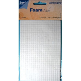 Foam Pads 2,0 mm/5mm.blok WIT