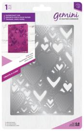 Gemini A6 Create-a-Card - Only Love (Alleen Liefde)