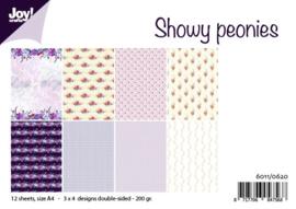 Showy Peonies