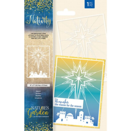 Nativity Stencil - The Brightest Star